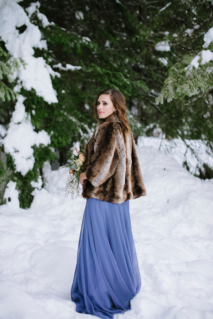 winter wedding inspiration dress