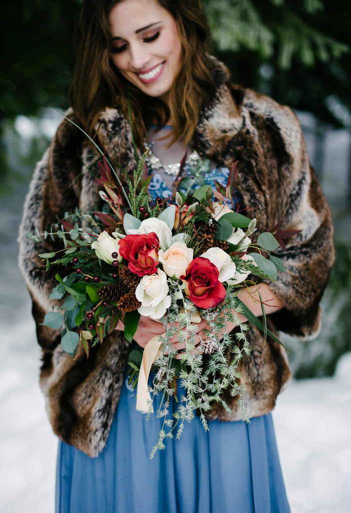 winter wedding floral inspiration