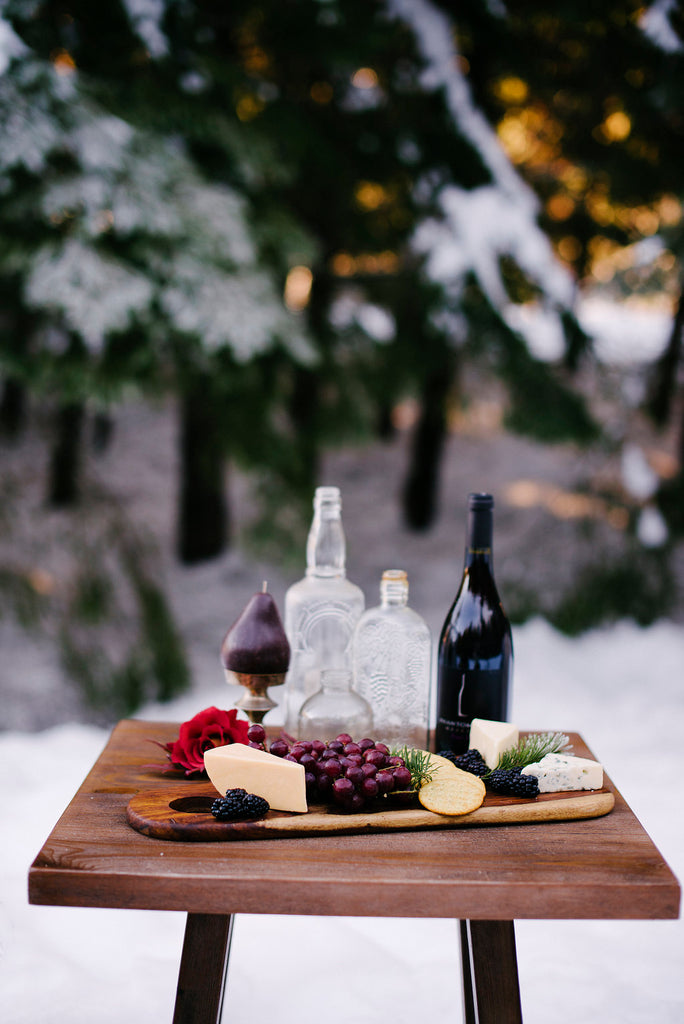 wine and cheese wedding inspiration