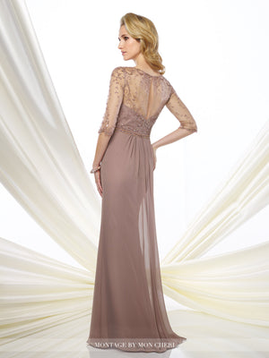 Harper Beaded Chiffon Gown -Montage By Mon Cheri- Nadia S Evening  - 2
