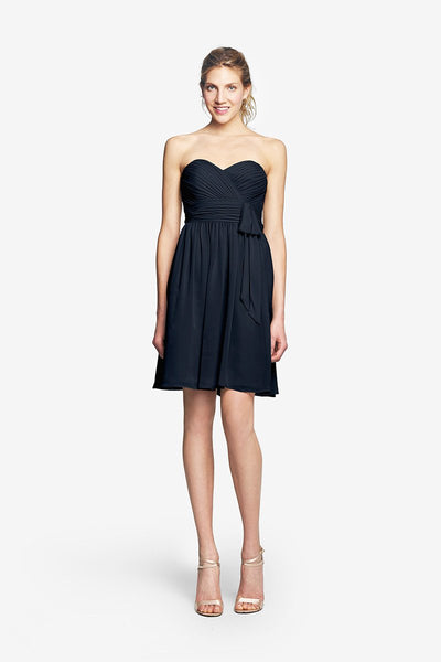 MADISON GOWN - NAVY