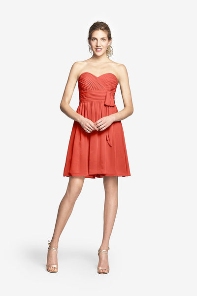 MADISON GOWN - CORAL