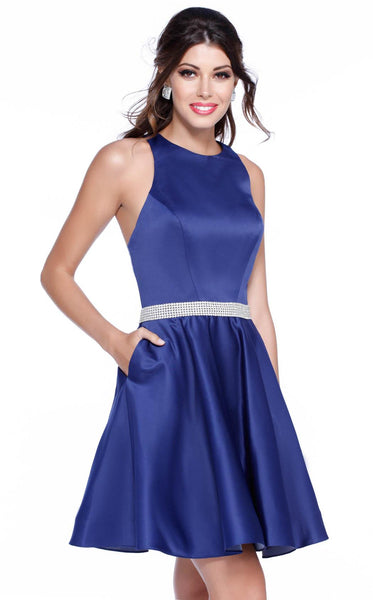 Mika Halter Satin Dress