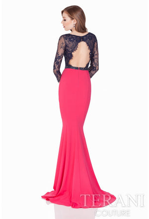 Annora Two Tone Gown -Terani Couture- Nadia S Evening  - 2