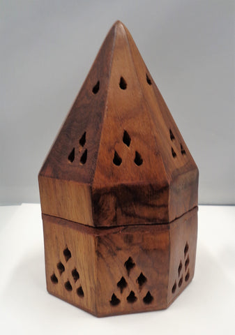 PYRAMID STYLE CONE OR RESIN BURNER
