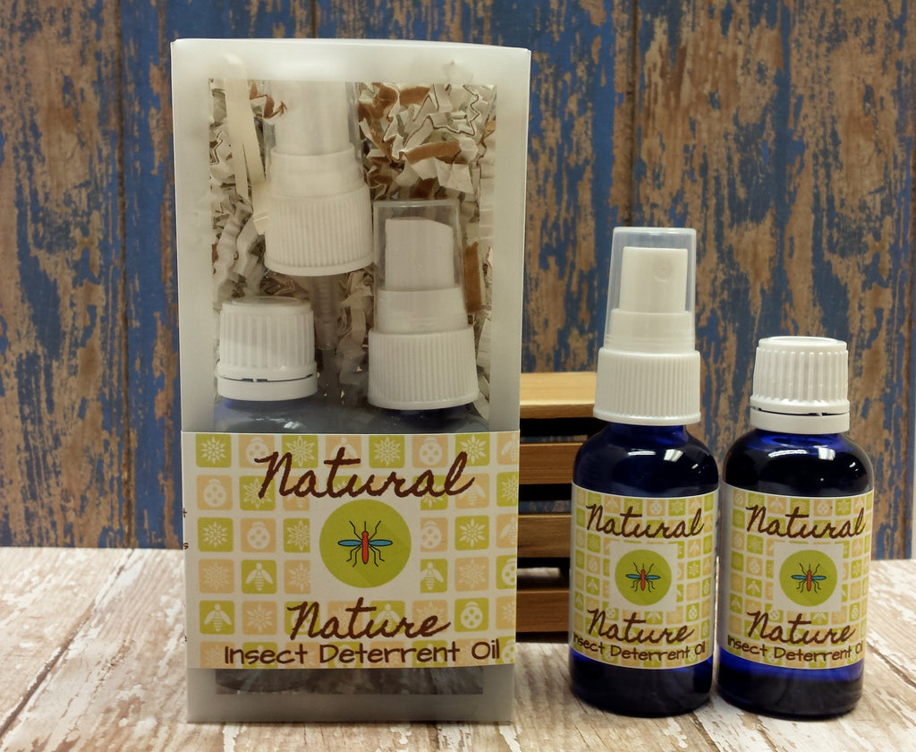 Natural Nature Insect Deterrent Essential Oil Kit