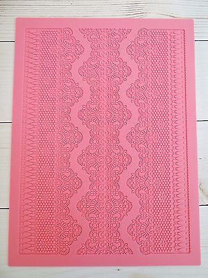 Lace Mat Large Silicone Lace Design