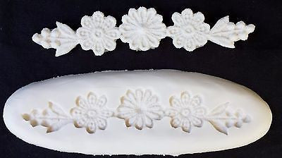 "Lace Maker Mold Flowers 4 1/2"" CK #44-1026 Cake Decorating Fondant Gum Paste"