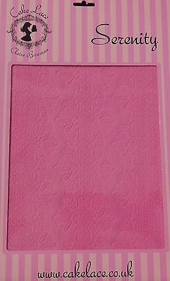 Cake Lace Mat Serenity Claire Bowman Silicone Lace Mat