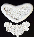 Lace Maker Silicone Mold Flowers CK #44-1025 Cake Decorating Fondant Gum Paste