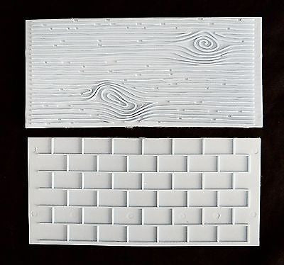 Brick Wood Grain Impression Mat Cake Embossing Mat