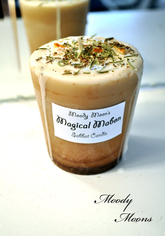 Magical Mabon Festival Candle