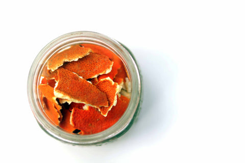 Chunky Dried Orange Peel