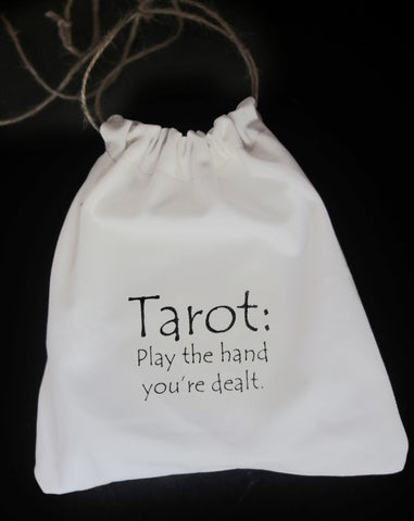 Large Drawstring Bag for Tarot Cards