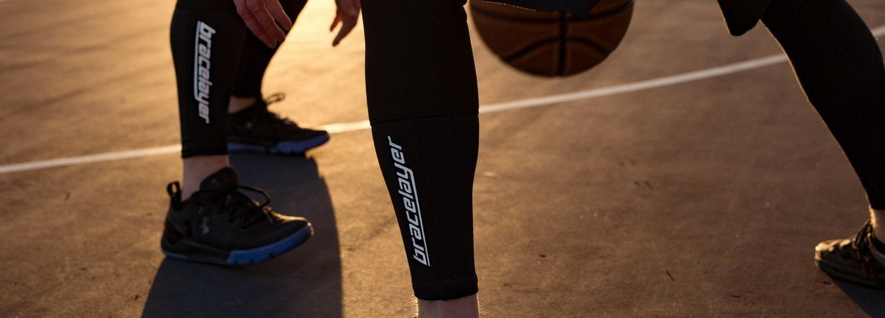 Bracelayer Knee Compression Pants - Basketball