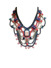 Painted Rhinestone Necklaces