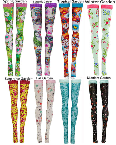 Garden Doll Stockings to fit Bratzilla - Moxie Teen - Liv - DC Heroes - Dolls - Doll Clothes