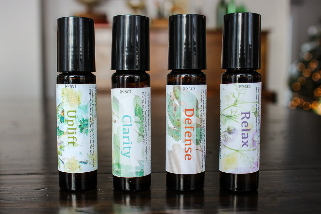 Aromatherapy Essential Oil Roller