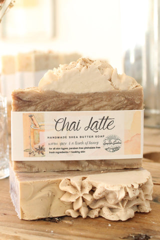 Chai Latte Handcrafted Soap Bar