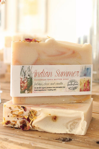 Indian Summer Handcrafted Soap Bar