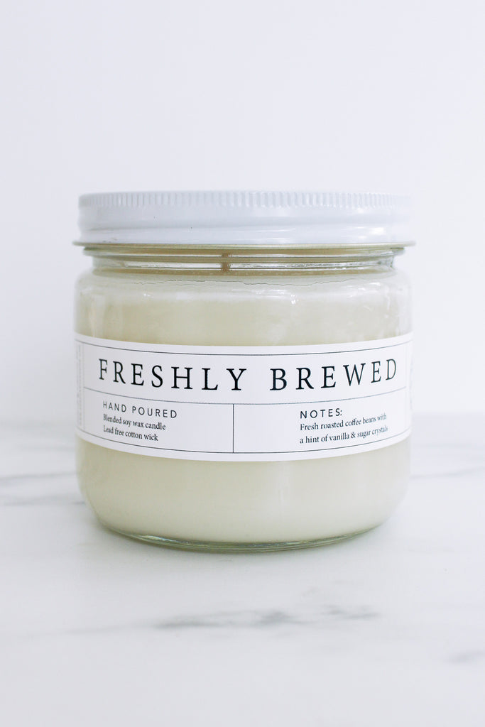 Hand Poured Soy Candles - Fall Edition