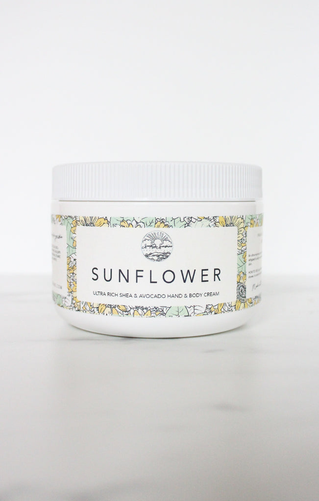Sunflower - Shea & Avocado Body Cream