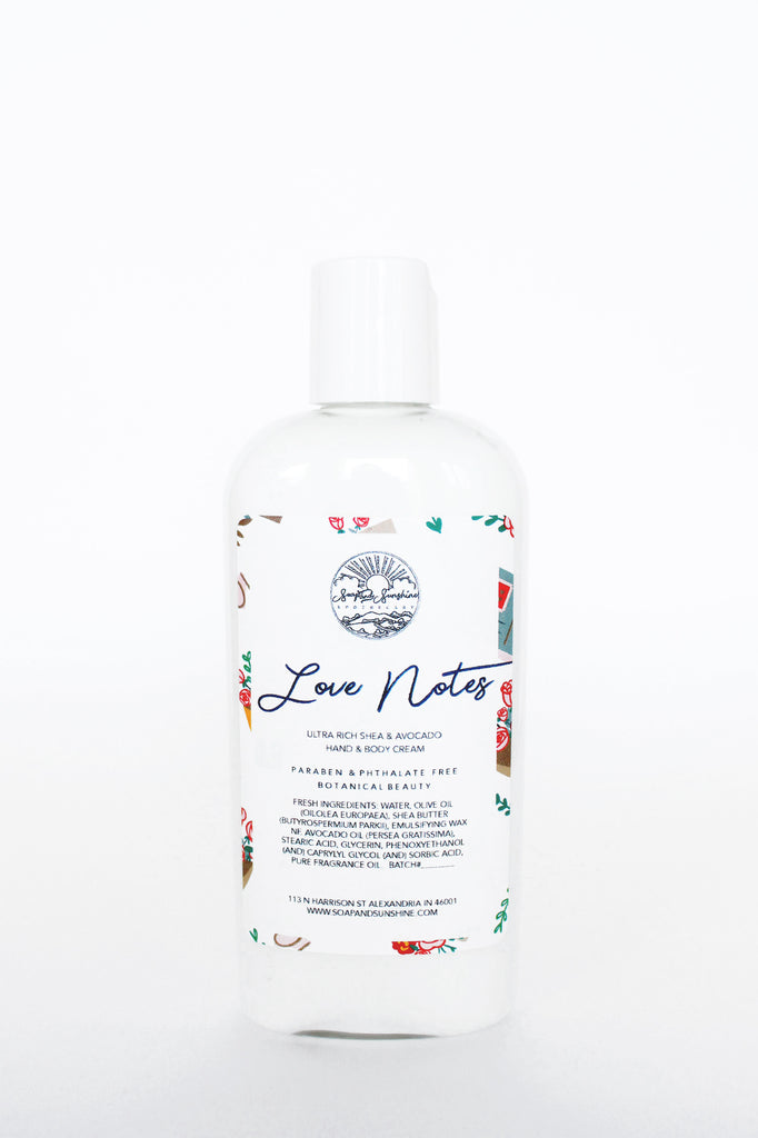 Love Notes - Shea & Avocado Body Cream