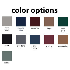 Hi-Low Table Color Options