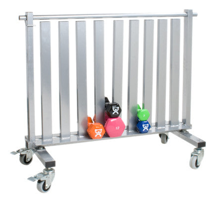 CanDo Dumbbell - Mobile Studio Rack - PTconnect