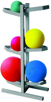 CanDo Plyometric Medicine Ball Rack - Two-Sided - PTconnect