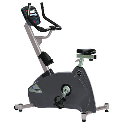 "Nautilus® Cardio U10 Upright Bike with 7"" Touch Screen - PTdunrite"