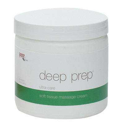 Deep Prep Massage Cream - Ultra Care 15 oz Jar