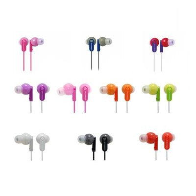 Zumreed ZHP-017P Canty Colorful Stereo Earphones with Pouch - PTdunrite - 1