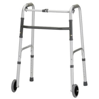 "Nova Medical Lightweight Adult Aluminum Walkers with 5"" Wheels - PTdunrite - 2"