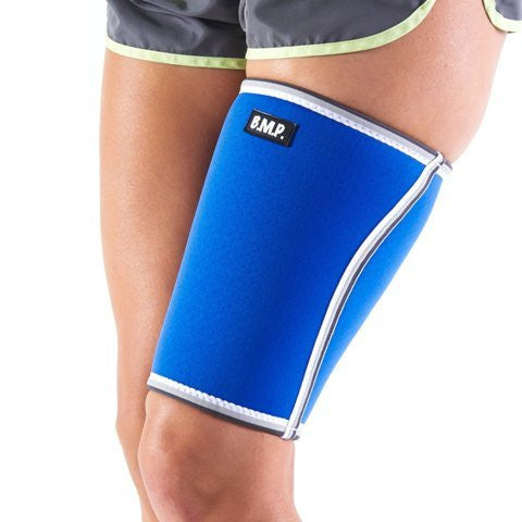 BMP Extra Thick Warming Blue Thigh Brace & Compression Sleeve