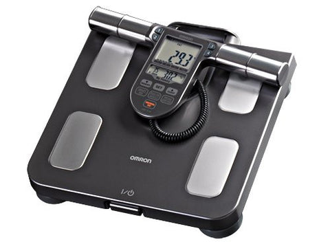 Omron Body Composition Monitor with Scale - 7 Fitness Indicators - PTdunrite - 1