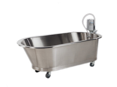 Whitehall Low Boy Slant Back Mobile Whirlpool-100 Gallon - PTdunrite