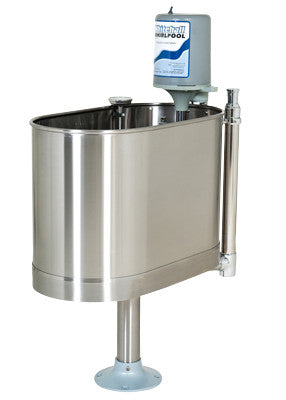 Whitehall Stationary Whirlpool with Pedestal - 22 Gallon - PTdunrite