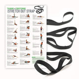 Stretch Out® Strap XL with Training & Conditioning Poster - PTdunrite - 1