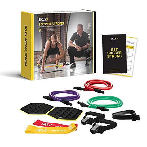 SKLZ Soccer Strong 9 Week Performance Program and Training Training Kit - PTdunrite - 1