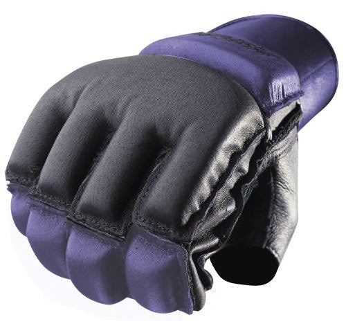 Harbinger Women's Bag Gloves with Wrist Wraps - Black/Indigo - PTdunrite - 1