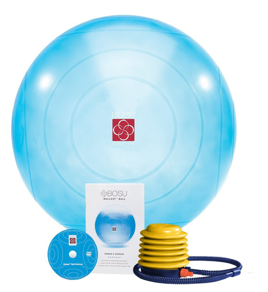 BOSU Ballast Exercise Ball, 65cm Blue - PTconnect