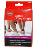 Valeo Cotton Lifting Straps - PTdunrite - 1