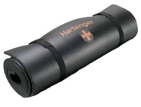 Harbinger Rolled Durafoam Exercise Mat - Black - PTdunrite - 1