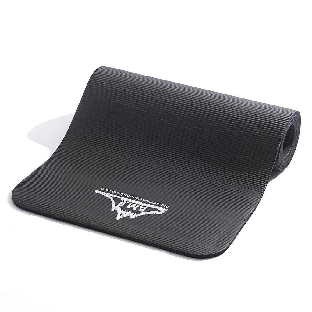 BMP Yoga and Exercise Mat - Black