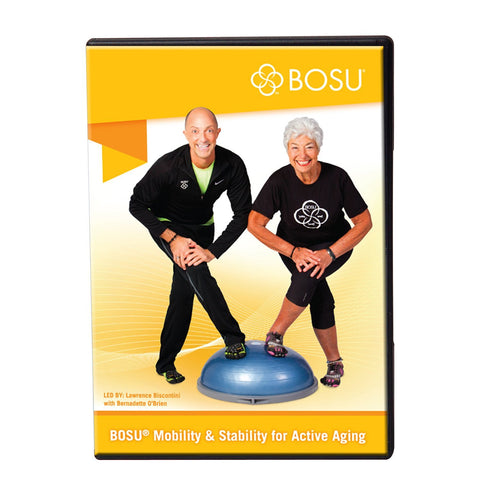 Bosu Mobility and Stability Fitness DVD - PTdunrite