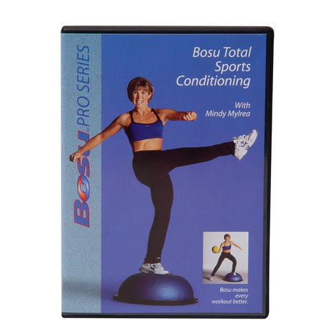 Bosu Total Sports Conditioning DVD with Mindy Mylrea - PTconnect