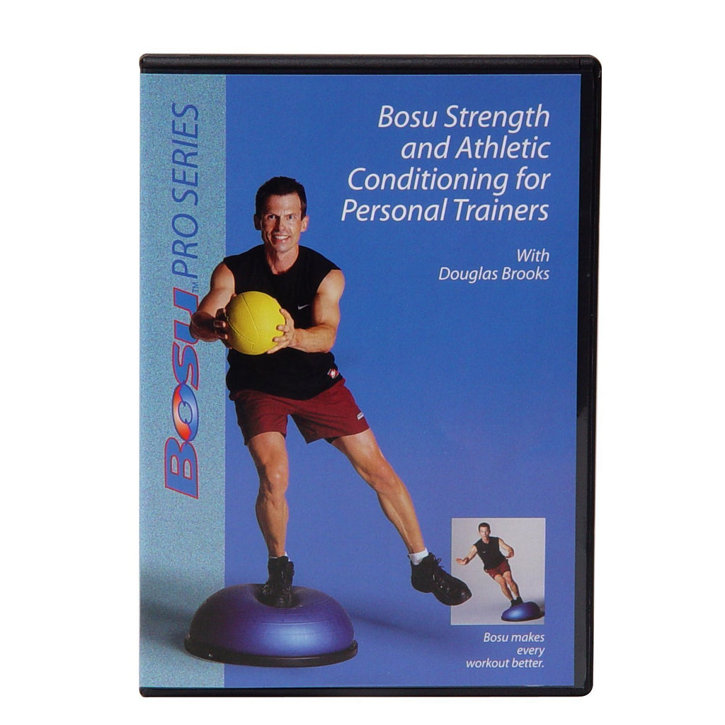 Bosu Strength & Athletic Conditioning for Personal Trainers DVD with Douglas Brooks - PTconnect