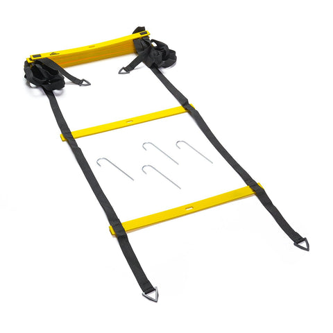 BMP Foldable Agility Ladder with Carry Bag - 13 ft