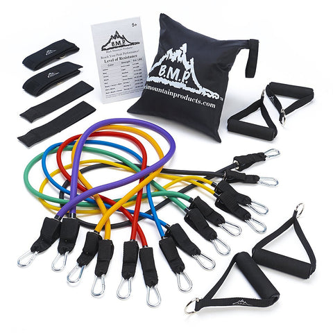 BMP Ultimate Resistance Band Set with Starter Guide
